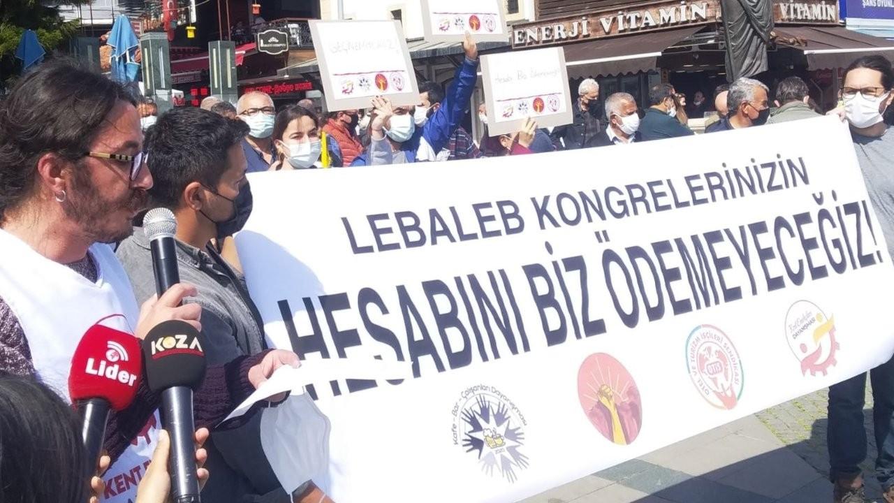 Antalya'da protesto: Koca sektörün dengesi bozuldu