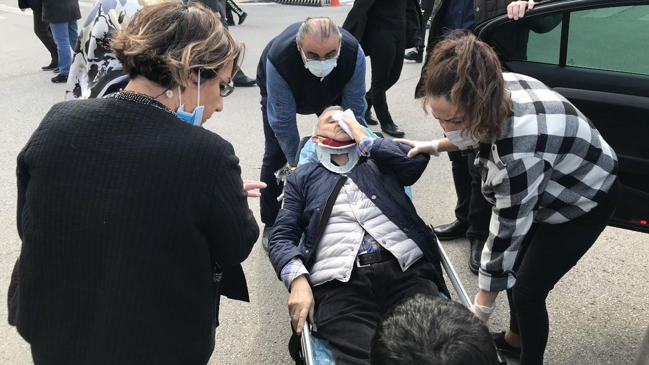 İYİ Partili Durmuş Yılmaz trafik kazası geçirdi