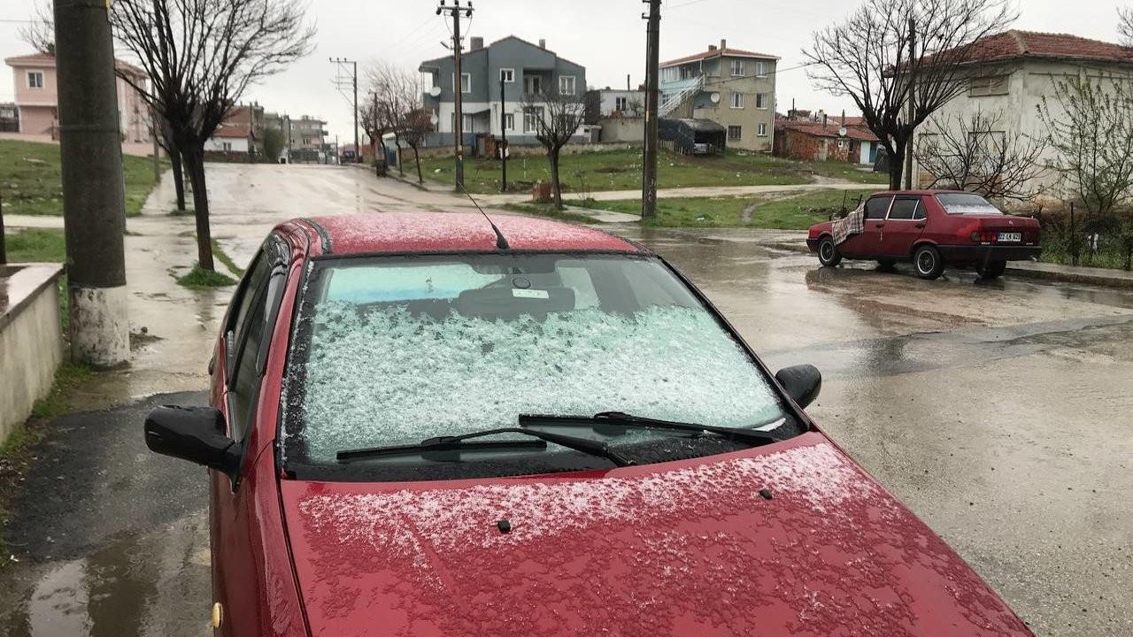 Edirne ve Kırklareli'nde kar yağışı