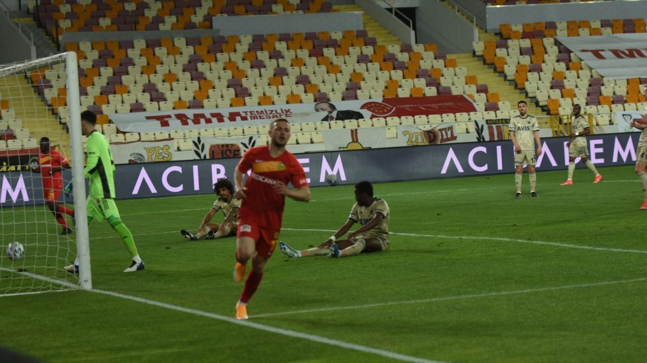 Zirve yarışındaki Fenerbahçe, Malatya'da 2 puan bıraktı