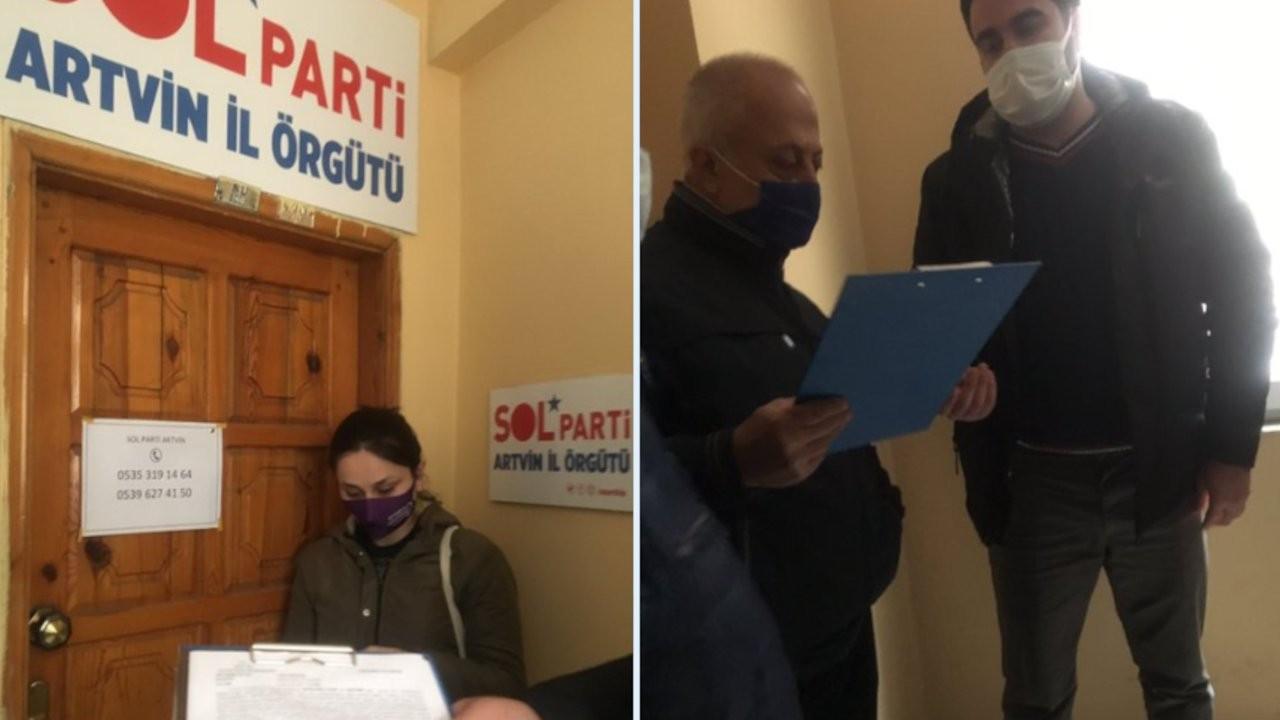 SOL Parti'de İstanbul Sözleşmesi araması: Başkana gözaltı