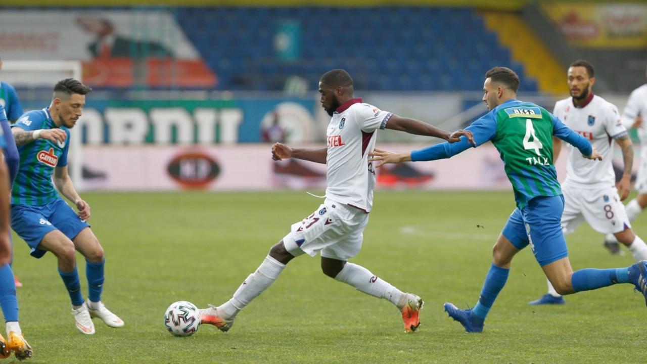 Trabzonspor'dan 5 maçta 4'üncü beraberlik