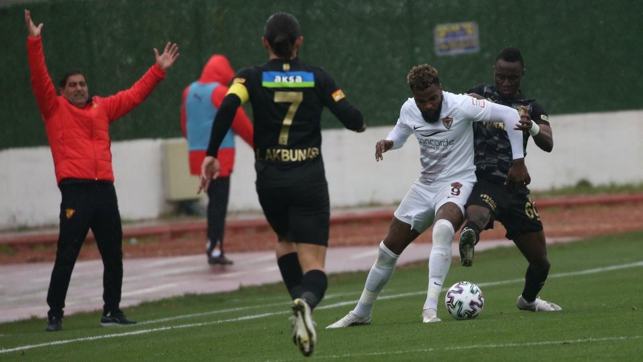 Hatay'da gol düellosunu Göztepe kazandı