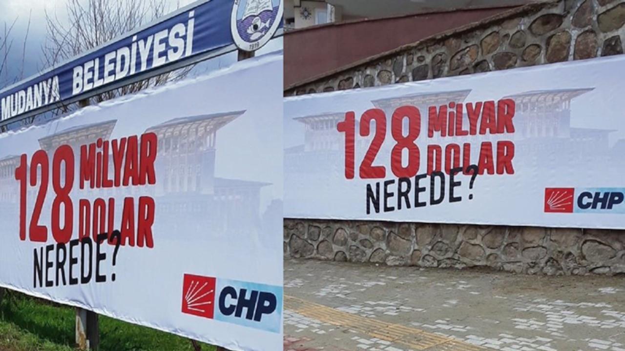 '128 milyar dolar nerede?' billboardlarına 'hakaret' soruşturması