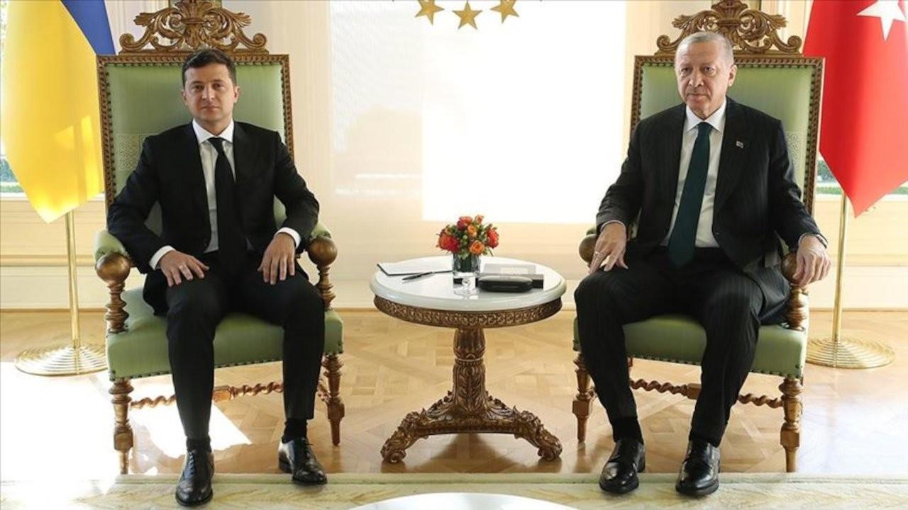 Erdoğan, Zelenskiy ile görüştü
