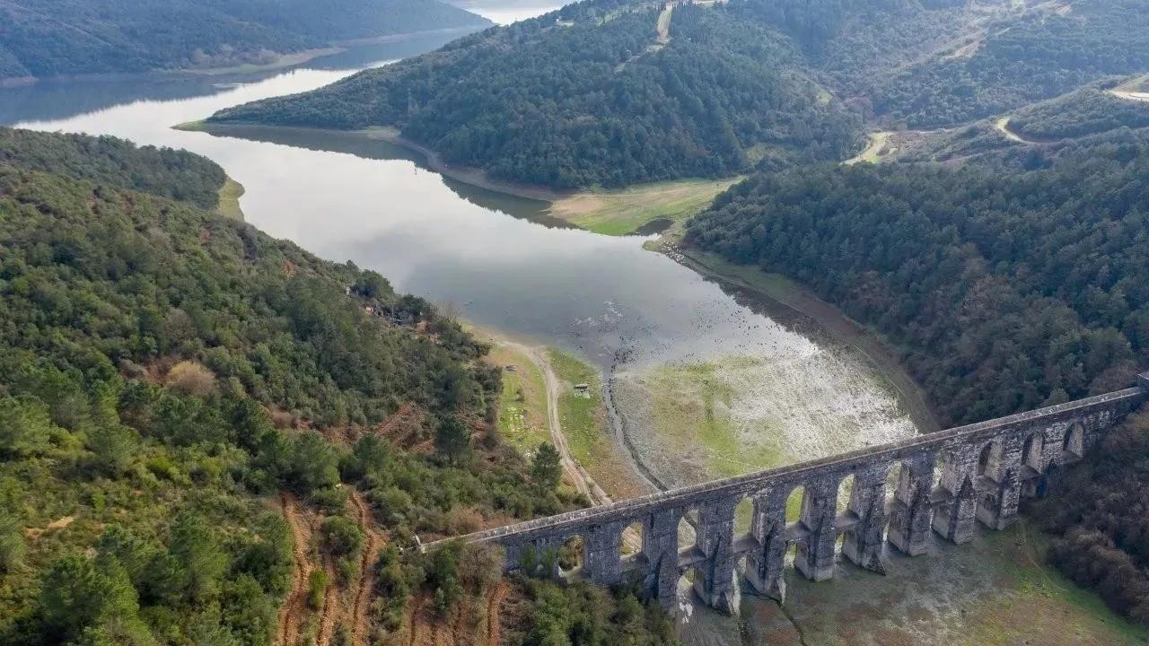İstanbul'un barajlarındaki doluluk oranı yüzde 79,8