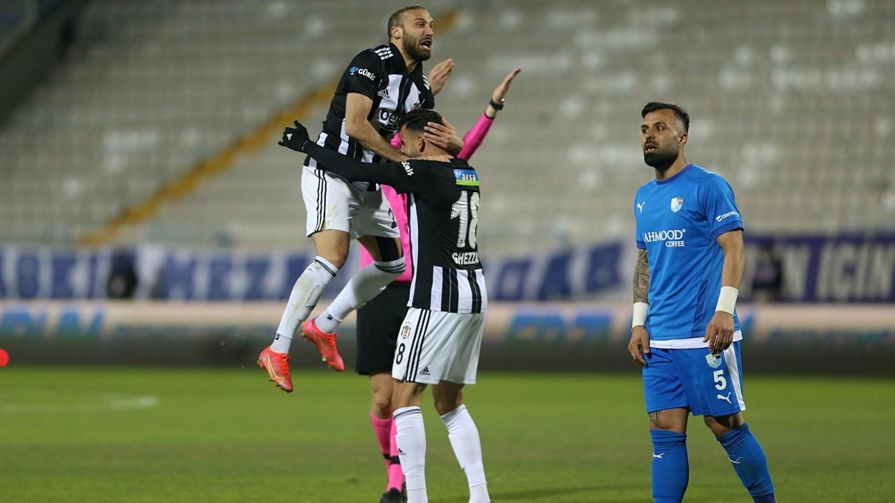 Erzurumspor'u 4-2 yenen Beşiktaş zirvede arayı açıyor