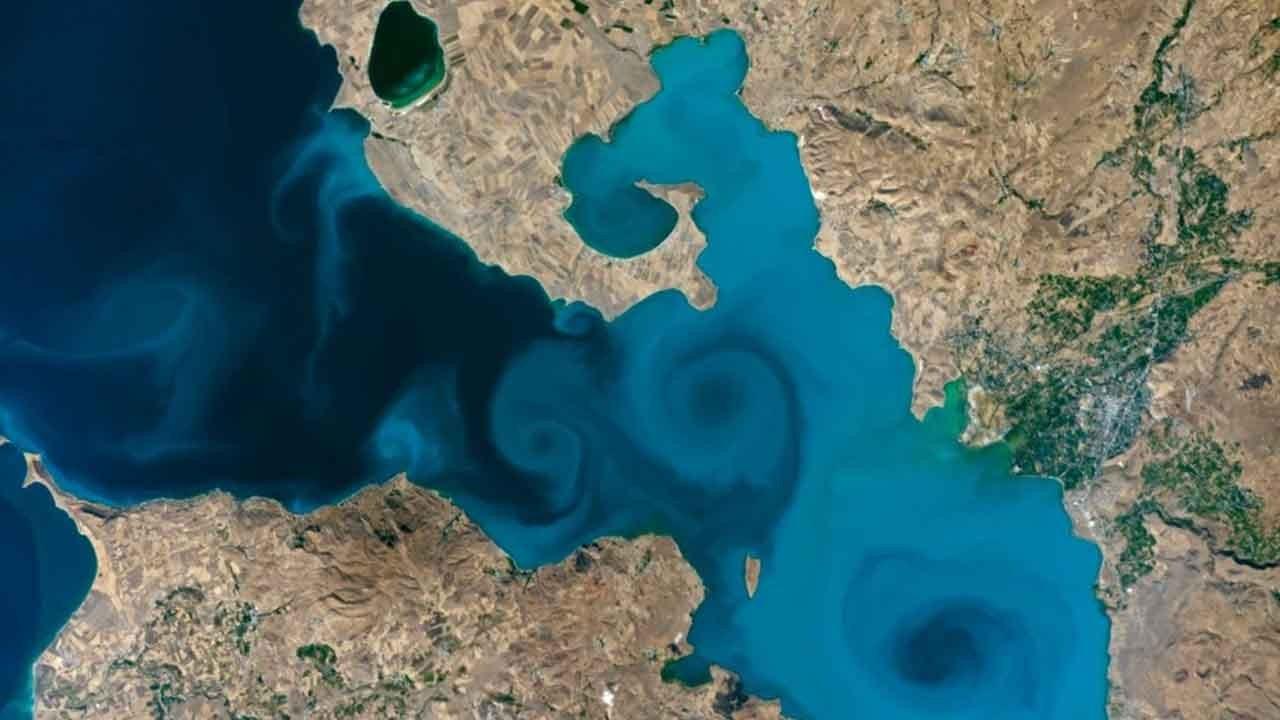 Van Gölü fotoğrafı, NASA'nın yarışmasında finale kaldı
