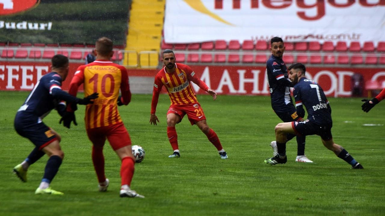 Antalyaspor, deplasmanda Kayserispor'u mağlup etti