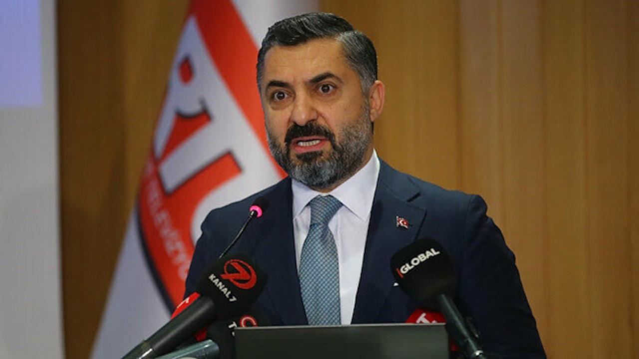 RTÜK Başkanı Şahin: Halk Bankası'ndan da maaş almam yasal ve etiktir