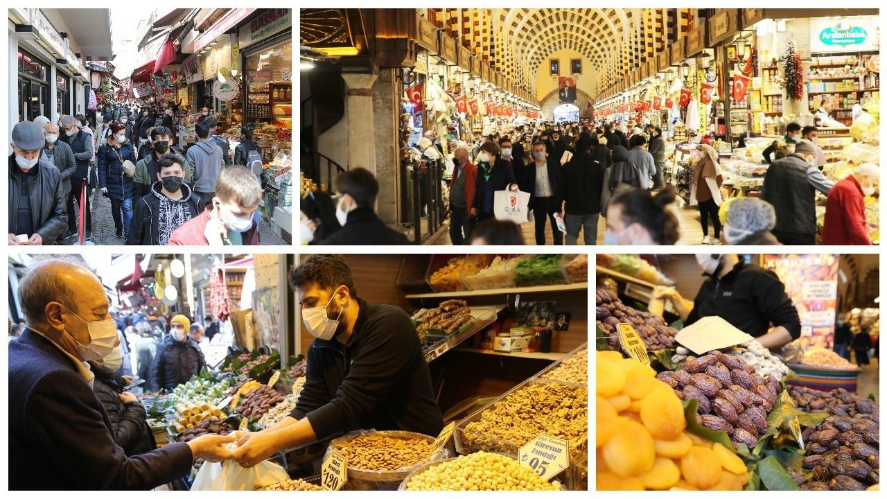 İstanbul'da alışverişe akın