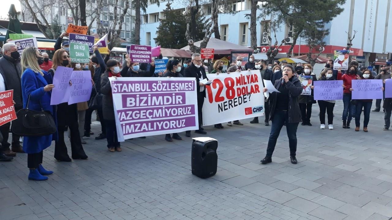 Pankart soruşturmaları Uşak'ta protesto edildi