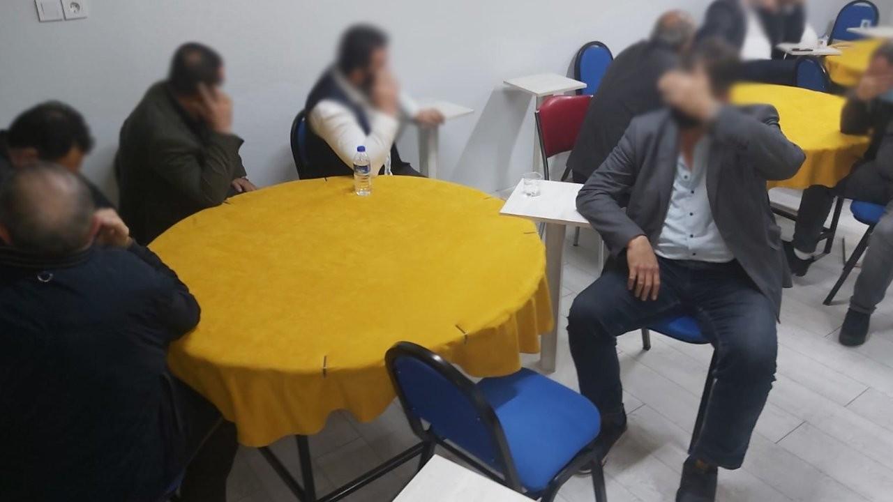 Balıkesir'de 24 kişiye kumar cezası