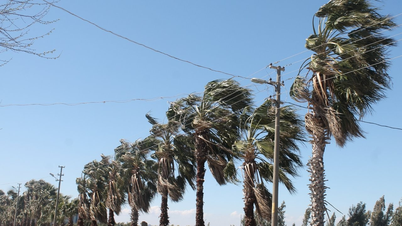 Marmara'da kuvvetli rüzgâr uyarısı