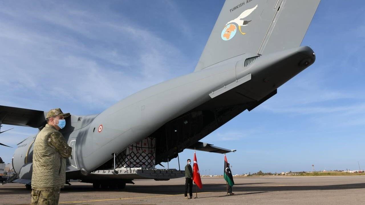 150 bin doz Covid-19 aşısı Libya'ya yollandı