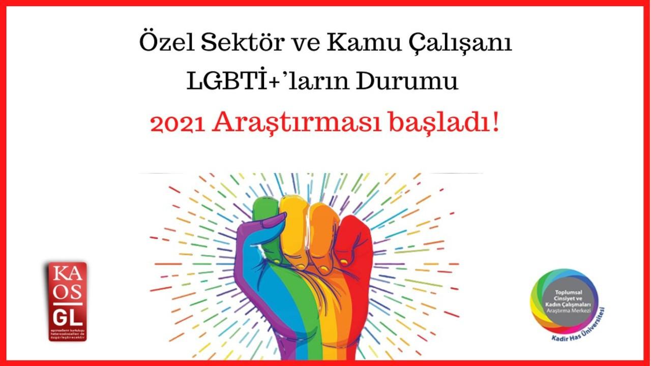 Çalışma hayatındaki LGBTİ+'lara çağrı: Ankete katılın