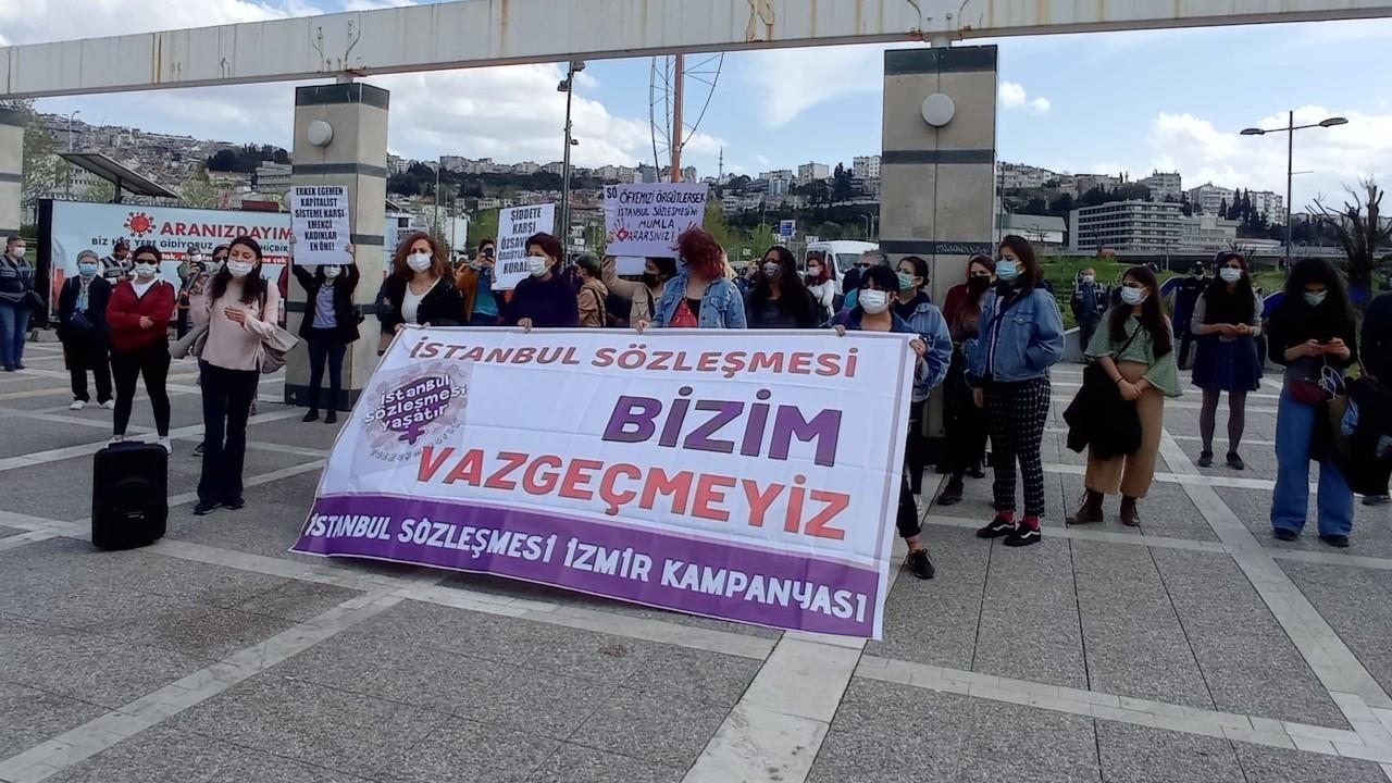 'İstanbul Sözleşmesi uygulanana kadar mücadele edeceğiz'