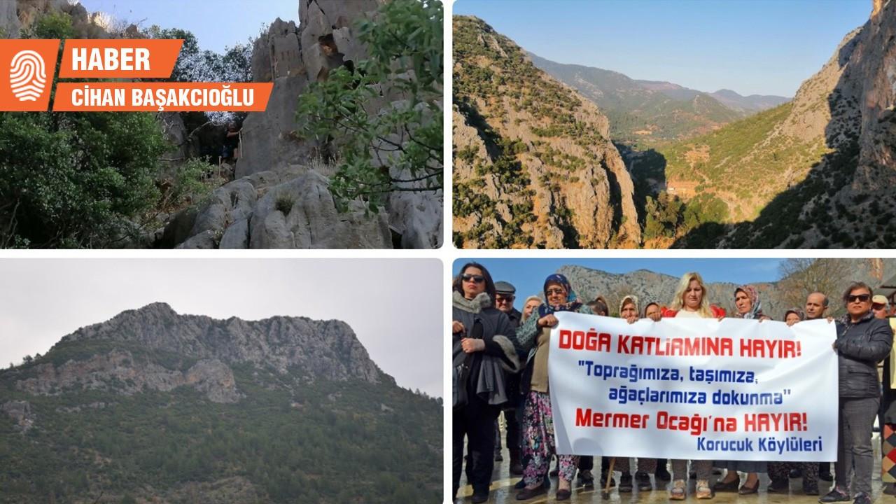 Turizme katkı sağlayacağı iddia edilen mermer ocağına mahkemeden iptal