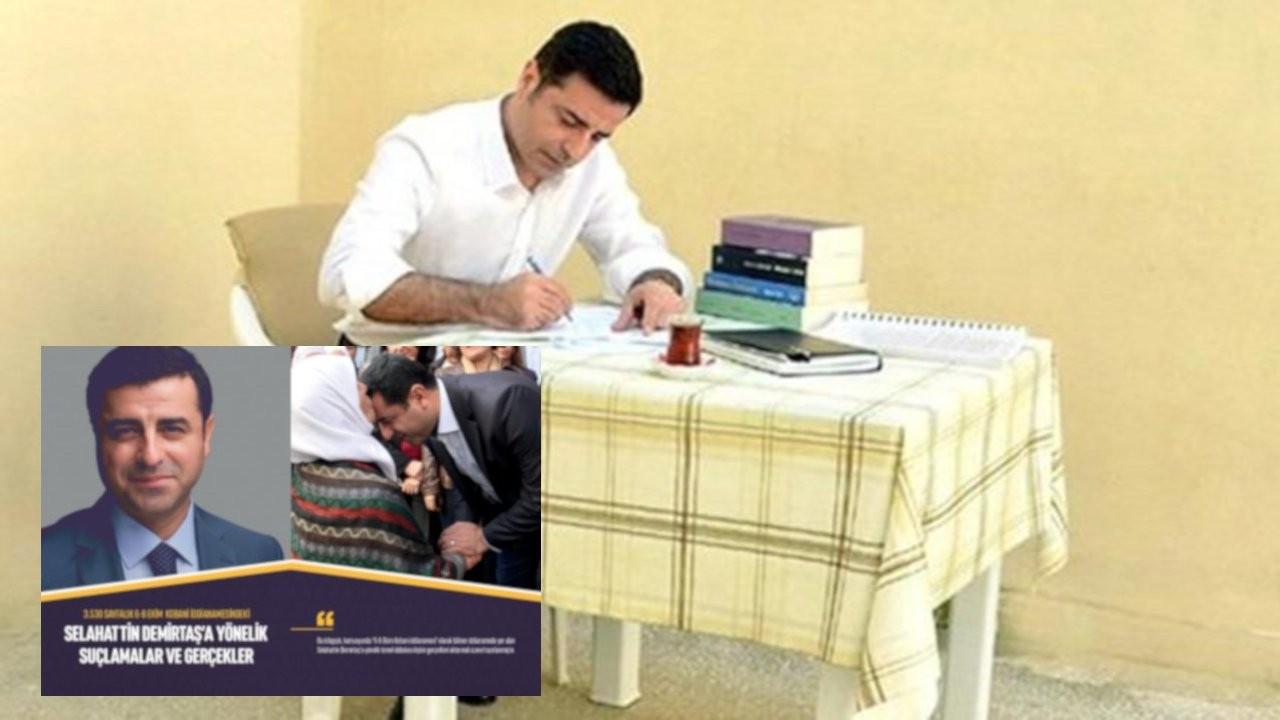 Demirtaş'ın avukatlarından Kobanê davası kitapçığı: 'Çarpıcı gerçekleri bulacaksınız'