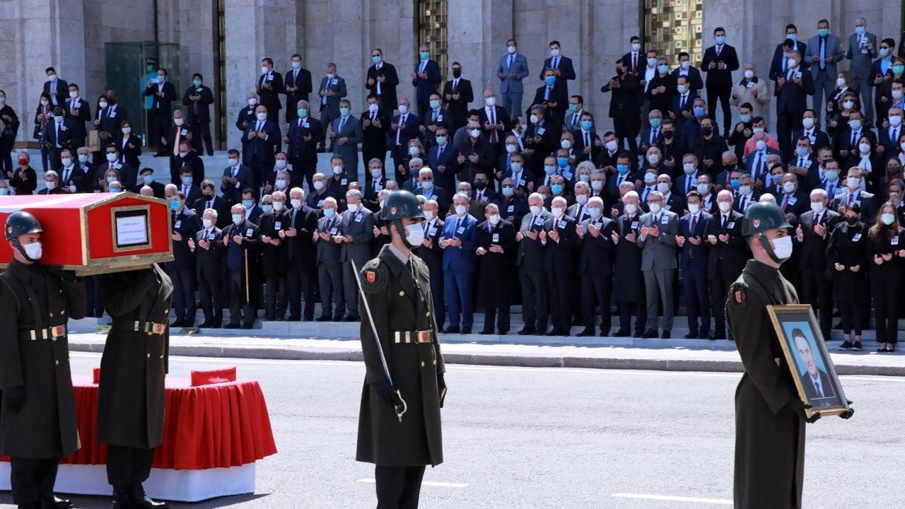 Yıldırım Akbulut için cenaze töreni düzenlendi