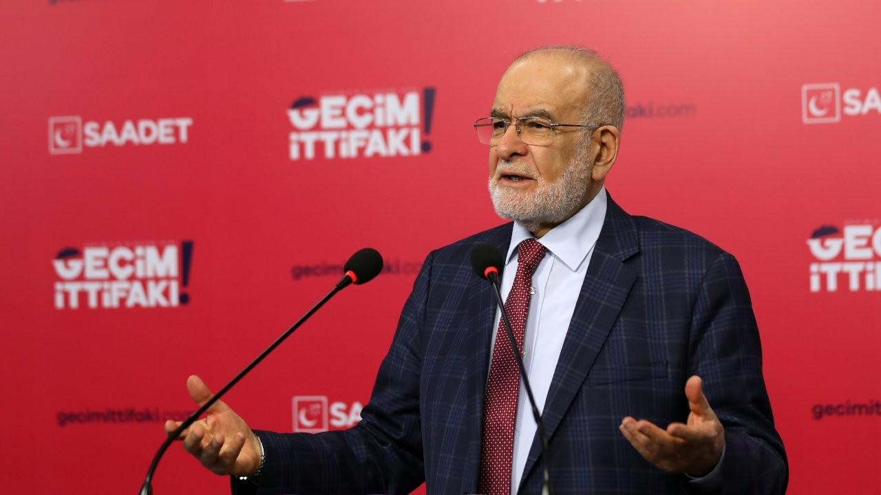 Karamollaoğlu'dan Erdoğan'a: Mesele gariplerin sofrasında olmak değil