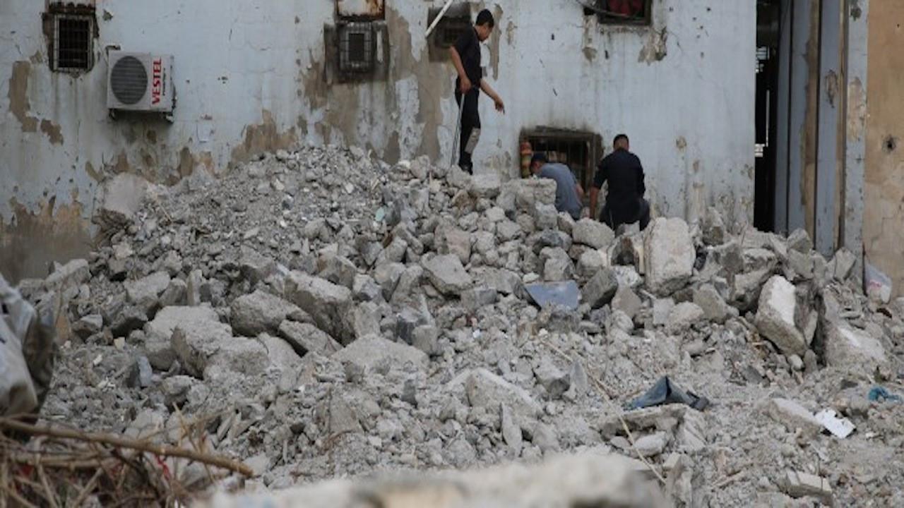 Cizre Mem û Zîn Kültür Sanat Merkezi yıkıldı