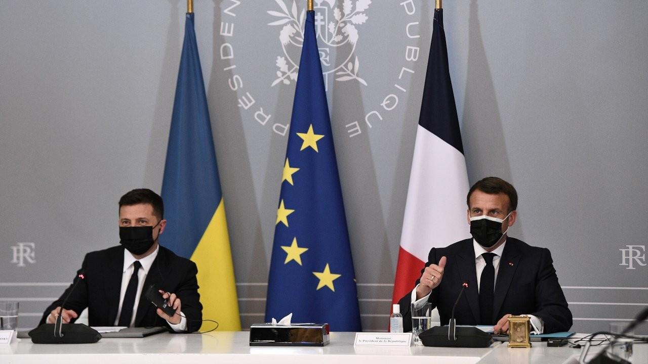 Ukrayna, Fransa ve Almanya'dan Rusya'ya 'geri çekilin' çağrısı