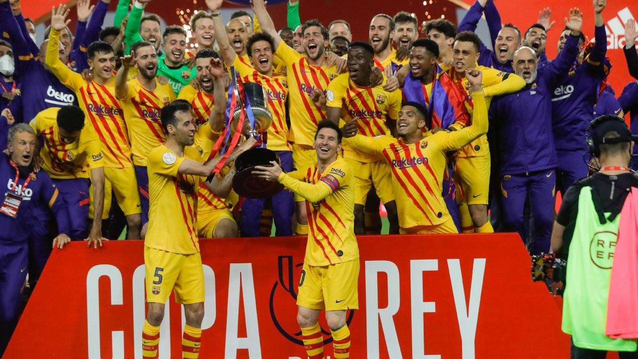 Kral Kupası Barcelona'nın: 4-0