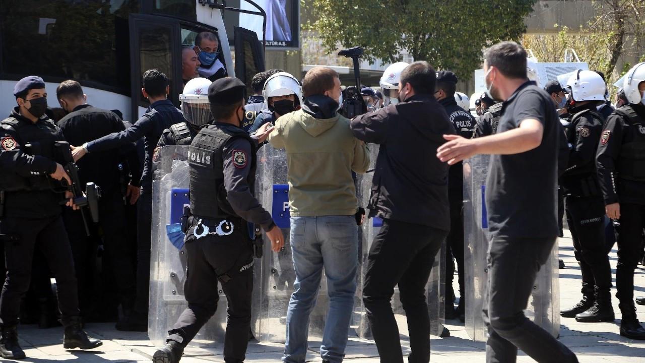 Bakırköy'de 1 Mayıs açıklamasına polis engeli