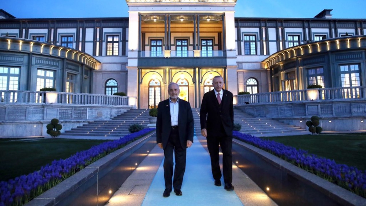 Cumhurbaşkanı Erdoğan ve Asiltürk iftarda bir araya geldi