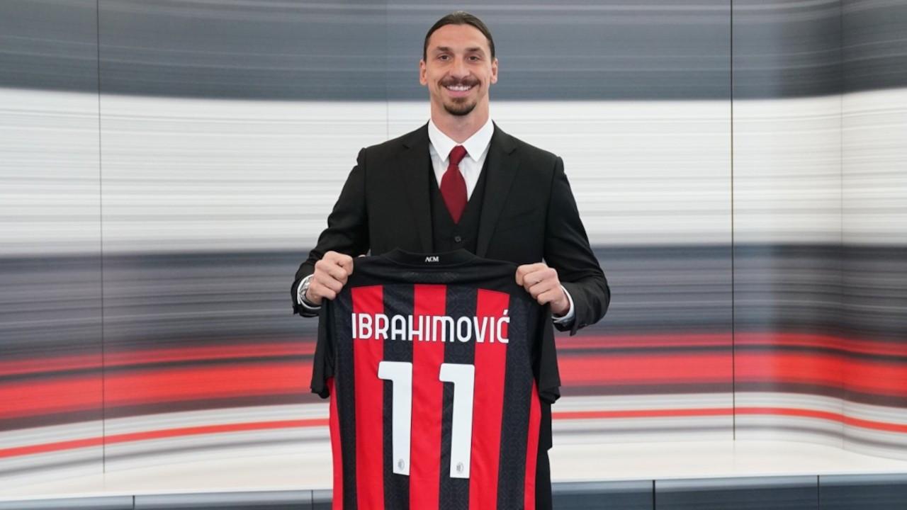 Milan, Zlatan Ibrahimovic'in sözleşmesini 1 yıl uzattı