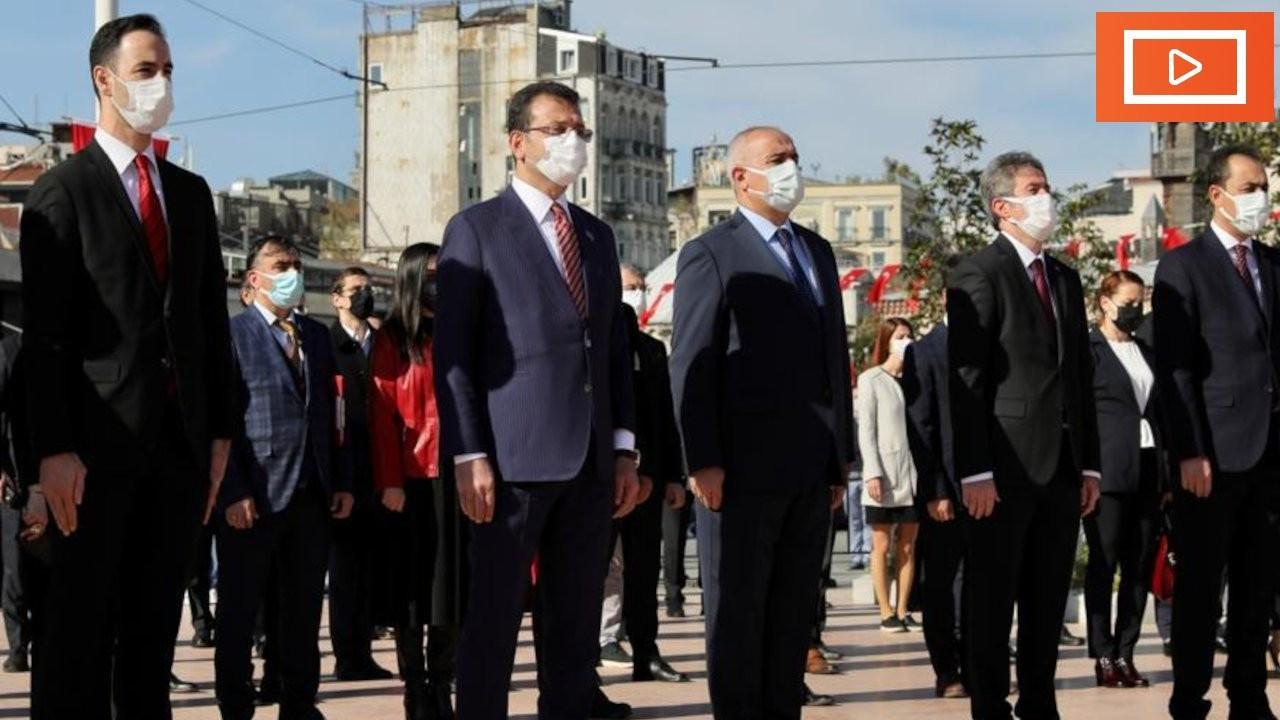İmamoğlu'ndan tören alanında tepki: Paran yoksa iste zavallı