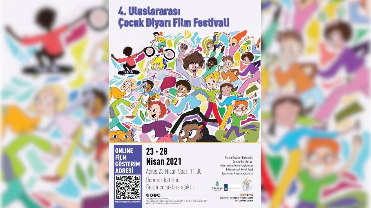 Uluslararası Çocuk Diyarı Film Festivali bugün başladı
