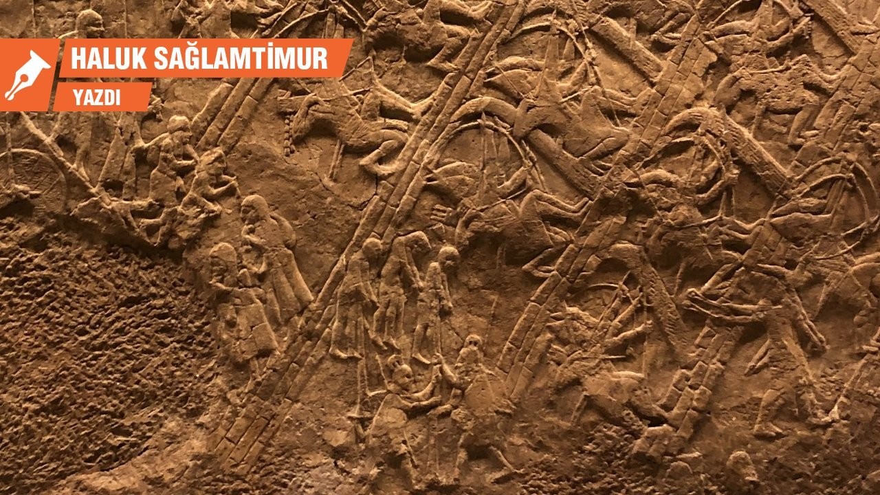 Asur İmparatorluğu'nda savaşın arkeolojik kanıtları