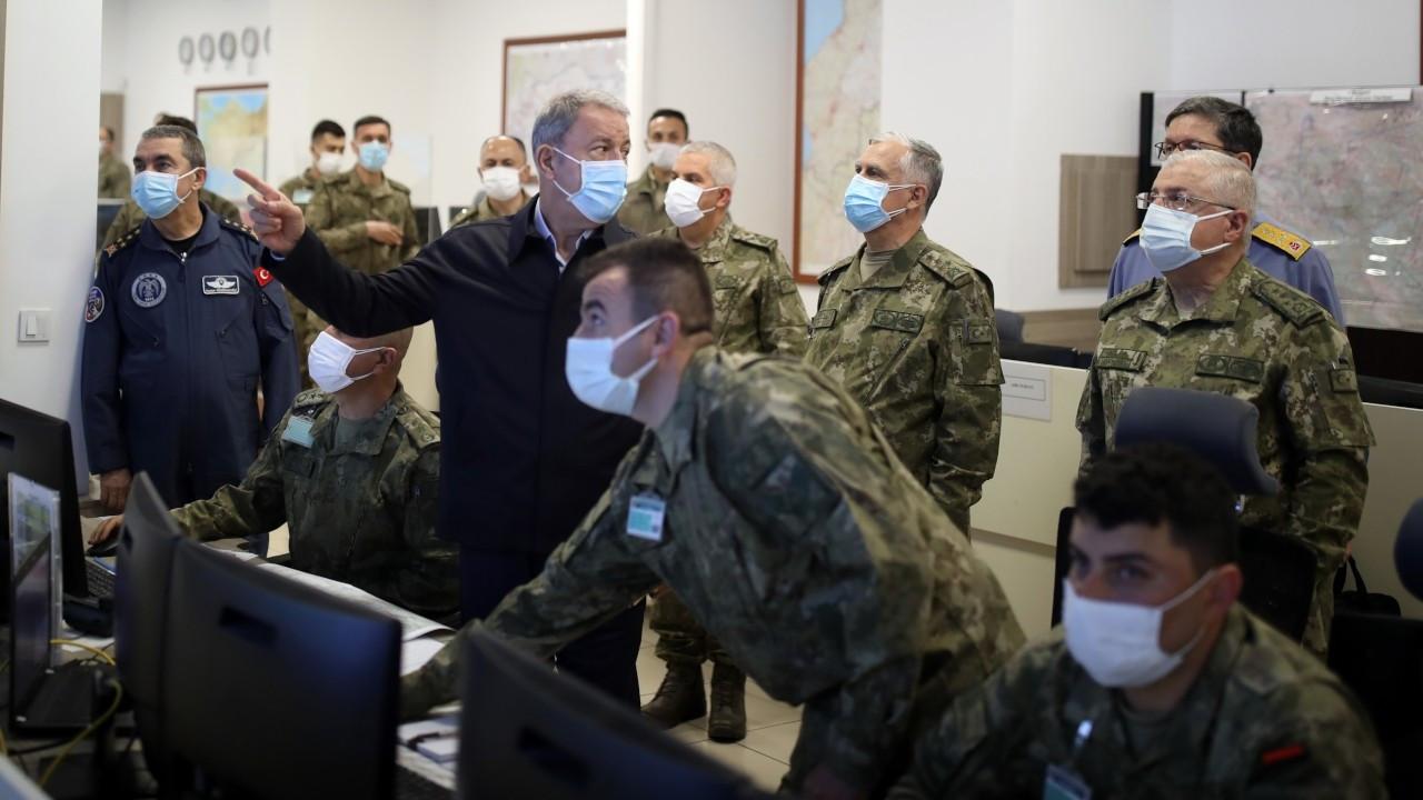 Akar: Operasyon dost ve müttefiklerle koordine edilerek yapılıyor