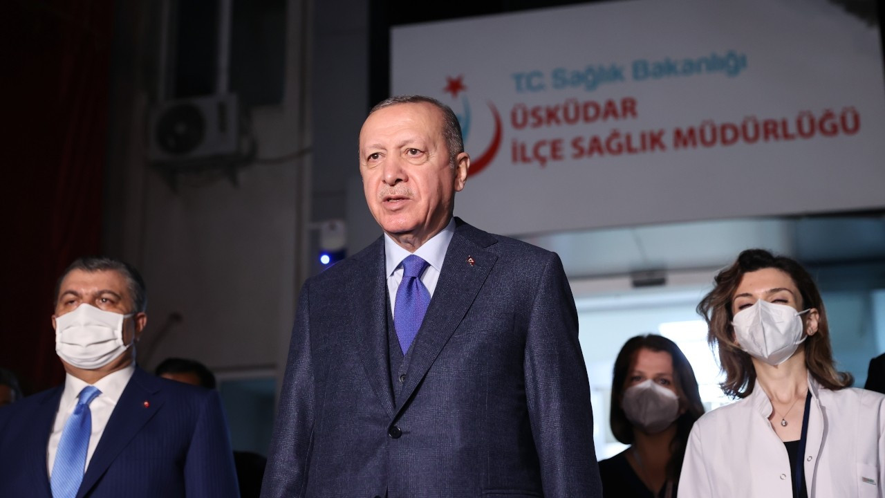 İftardan sonra açıklama yapan Erdoğan, Biden'ın soykırım konuşmasına değinmedi