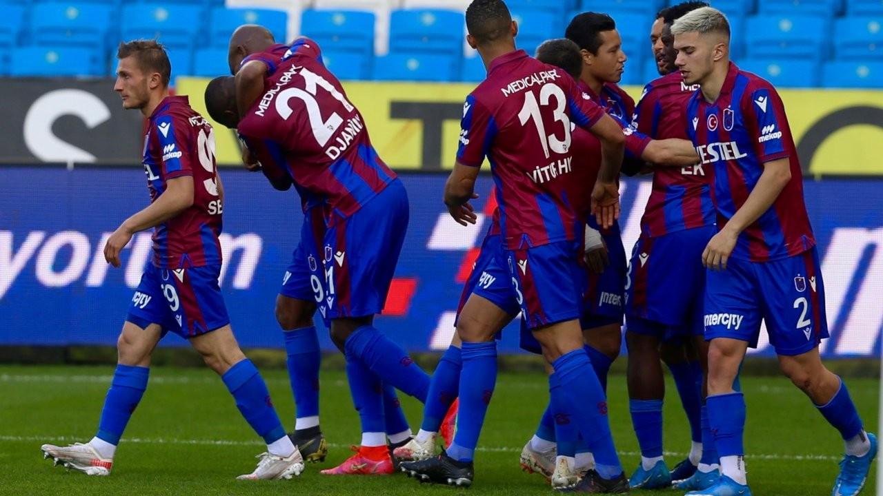 Trabzonspor beraberlik zincirini kırdı: 2-0