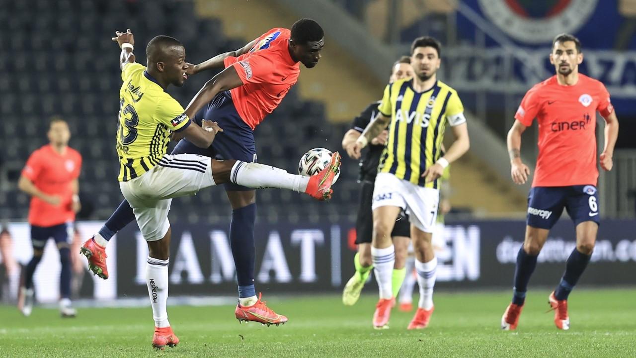 Fenerbahçe zirve takibini sürdürüyor: 3-2
