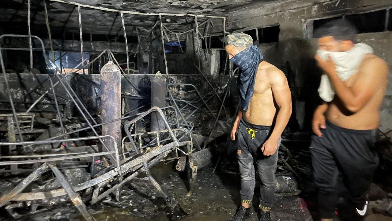 Bağdat'taki hastane yangınında ölü sayısı 82'ye yükseldi