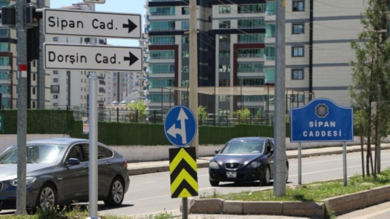 Sipan Caddesi'nin adı Abdülkadir Aksu yapıldı
