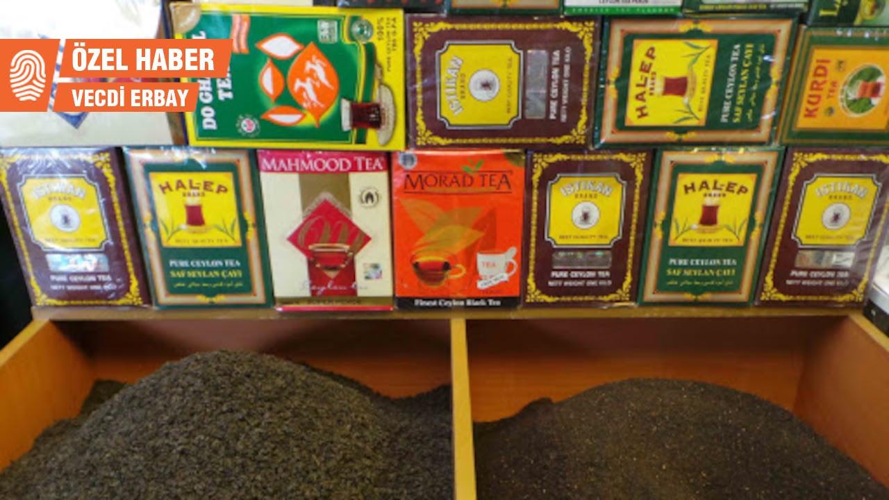 Sri Lanka'dan Diyarbakır'a yasal yollarla gelen 'kaçak çay'