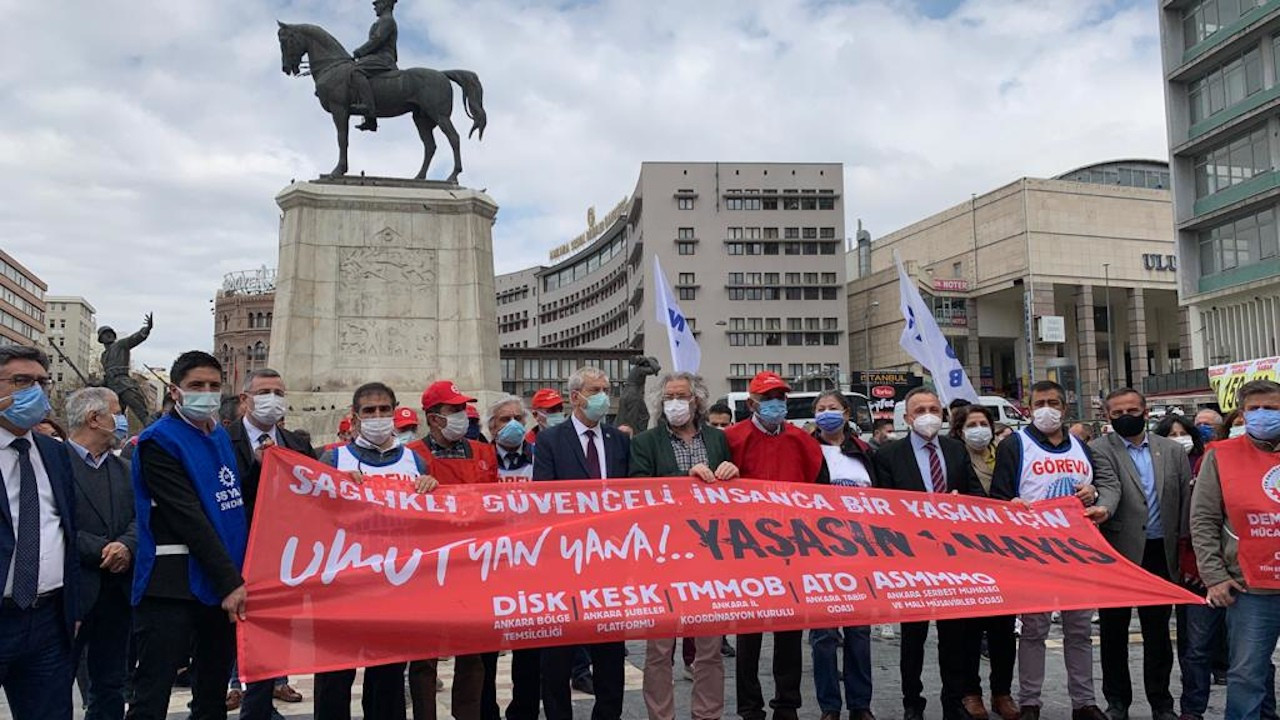 Ankara'da 1 Mayıs programı açıklandı: Engellemeye kalkmayın