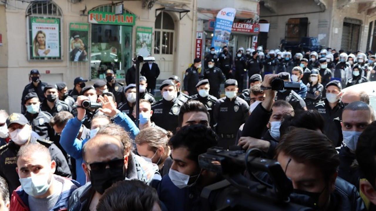 Kobanê açıklamasına saldırı: Çok sayıda kişi gözaltına alındı