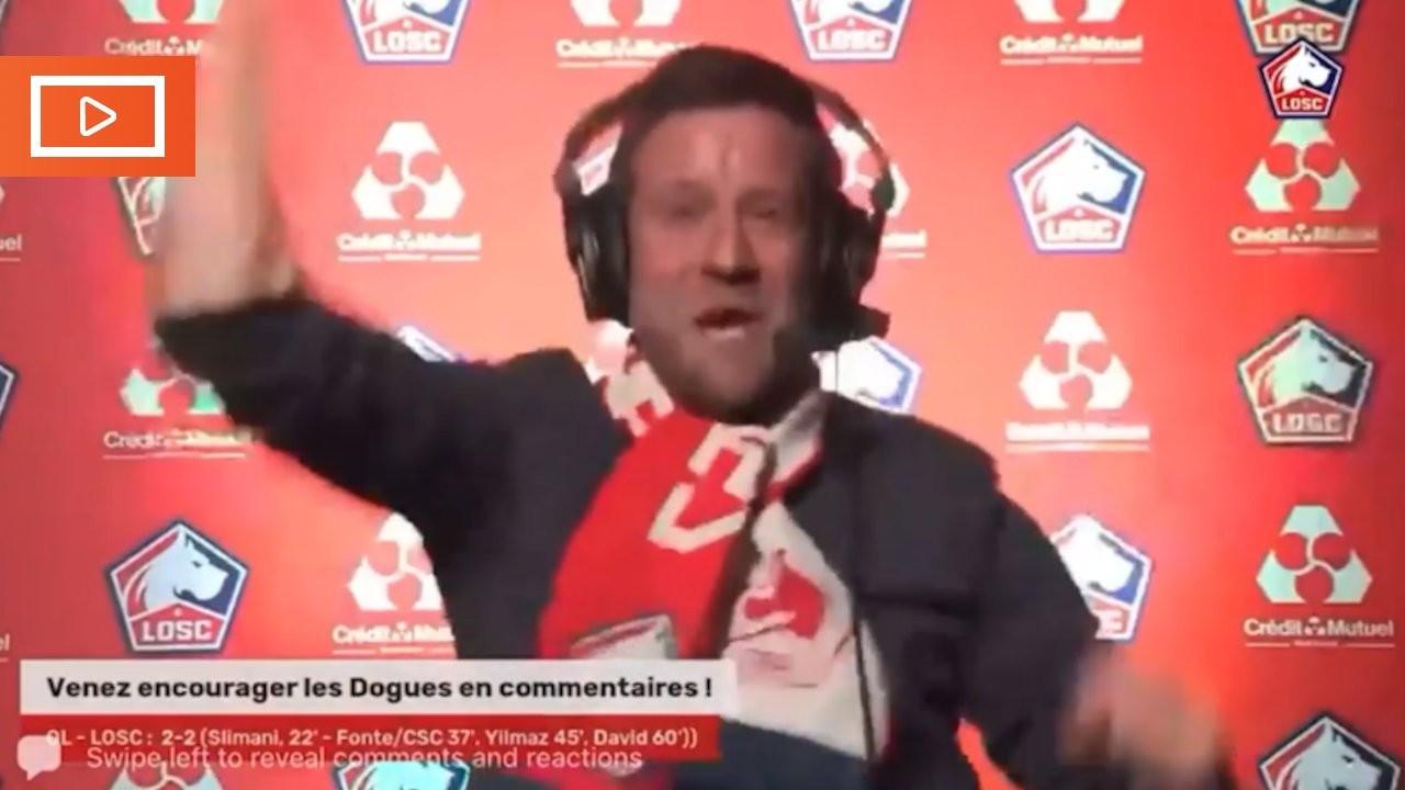 Lille'de spikerin Burak Yılmaz coşkusu: Bugaakk! Bugaakk!