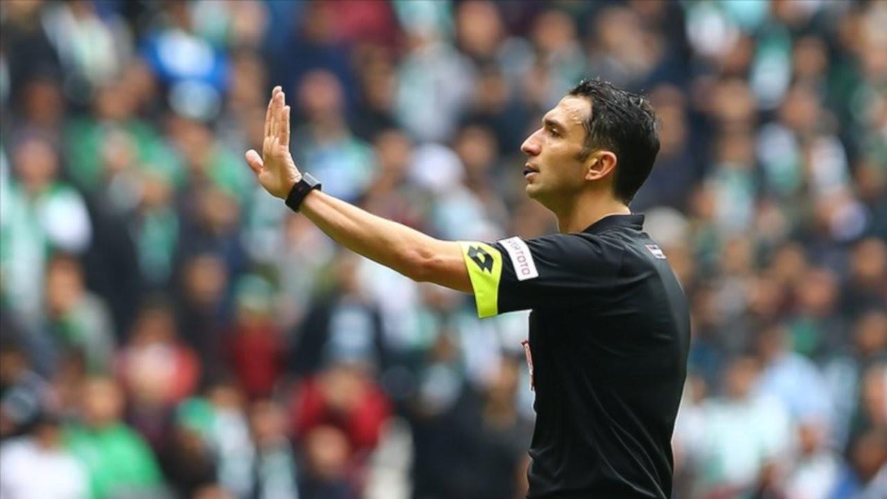 Beşiktaş'tan hakem Abdulkadir Bitigen tepkisi