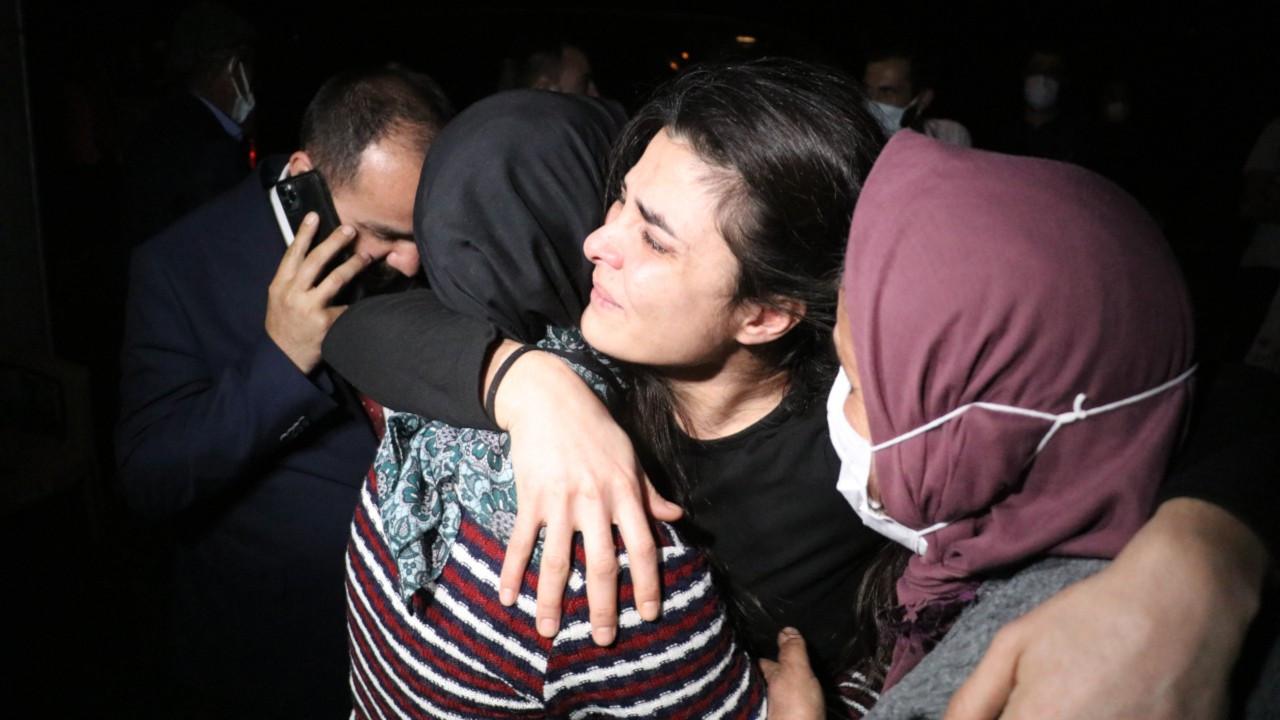 Melek İpek: Kızlarıma kavuştum, bu gece rahatça uyuyabileceğim