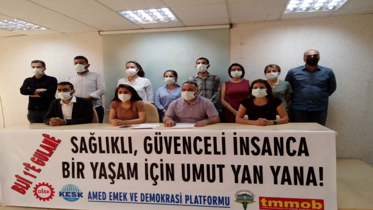Amed Emek ve Demokrasi Platformu: 1 Mayıs'ta umudu büyütüyoruz