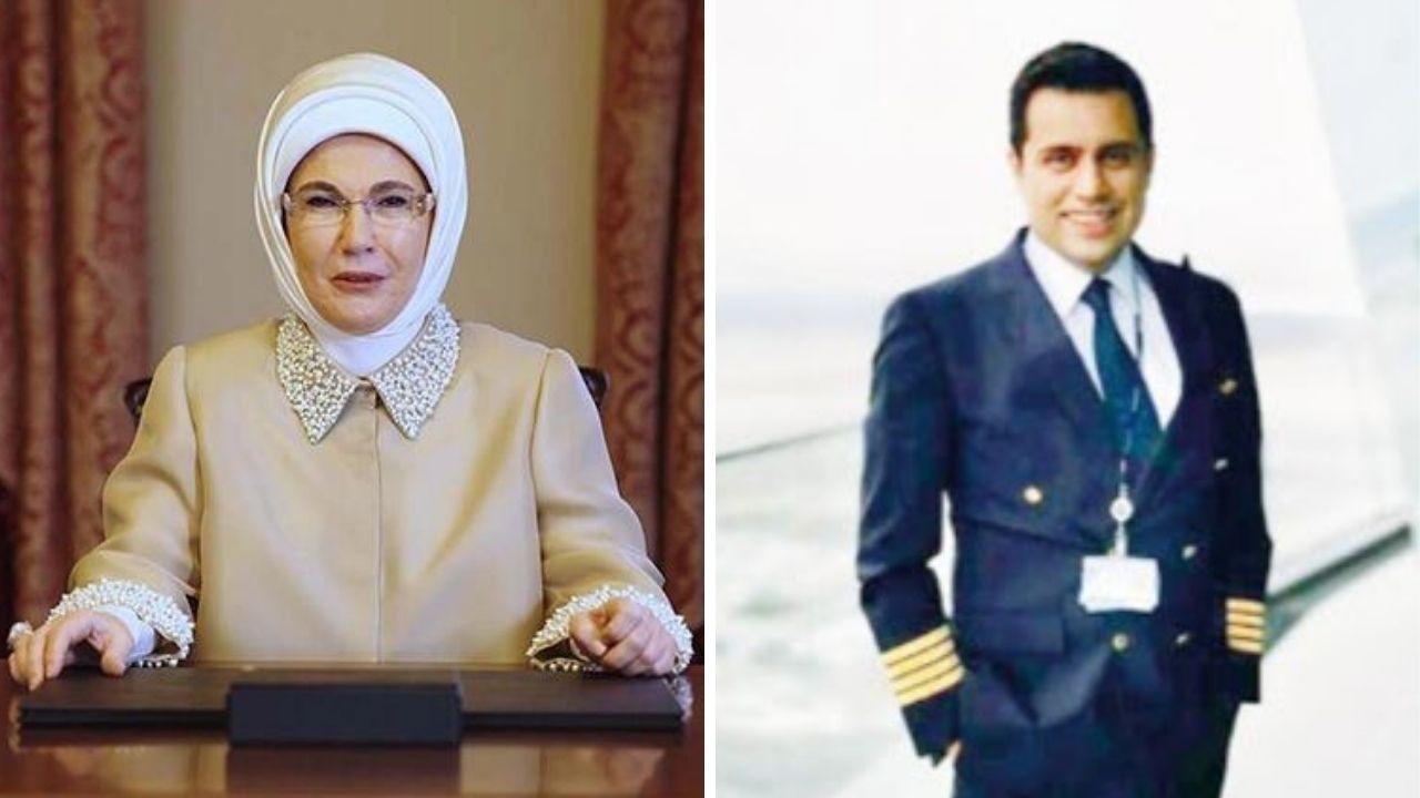 Emine Erdoğan'ın yeğeni THY'de genel müdür yardımcısı oldu