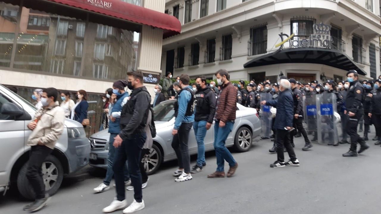 Şişli'de 1 Mayıs açıklamasına polis engeli