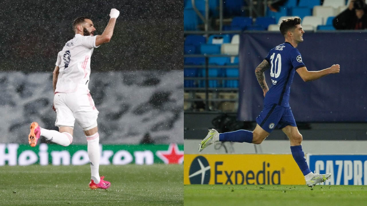 Karim Benzema ve Christian Pulisic tarihe geçti